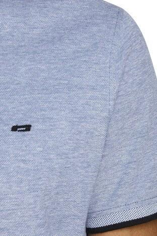 Jack & Jones Essentials Jjepaulos T Shirt Erkek Polo 12136668 AÇIK MAVİ