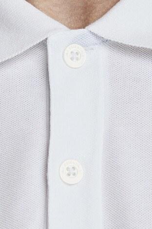Jack & Jones Essentials Jjestone Polo Yaka Erkek T Shirt 12147114 BEYAZ