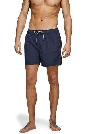 Jack & Jones Jeans Intelligence Jjıaruba Erkek Mayo Short 12166349 LACİVERT