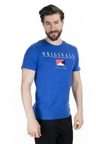 Jack & Jones Originals Jorantwon Tee Ss Crew Neck T shirt Erkek T Shirt 12145873 SAKS
