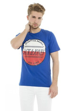 Jack & Jones - Jack & Jones Originals Jorart Brook Tee Erkek T Shirt 12150790 SAKS
