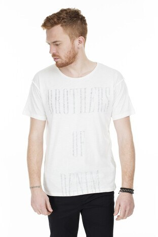 Jack & Jones Originals Jorboden Erkek T Shirt 12168228 KREM