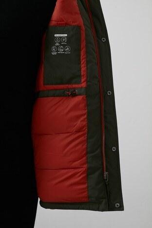 Jack & Jones Originals Jorgreat Suya ve Rüzgara Dayanıklı Kapüşonlu Erkek Mont 12177619 YEŞİL