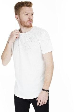 Jack & Jones Originals Jorhide Erkek T Shirt 12168215 EKRU