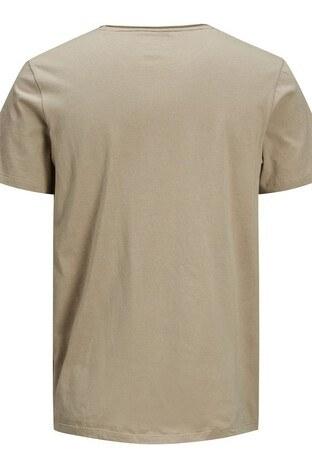Jack & Jones Originals Jorraf Regular Fit Erkek T Shirt 12171634A KAHVE