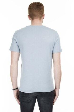 Jack & Jones Originals Jorricky Erkek T Shirt 12170564 AÇIK MAVİ