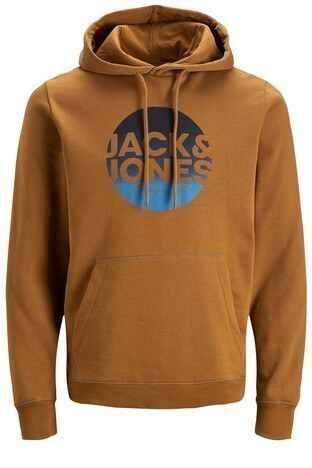 Jack & Jones Originals Jortorpedo Erkek Sweat 12178517 KAHVE