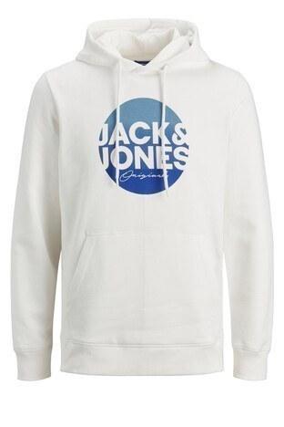 Jack & Jones - Jack & Jones Originals Jortorpedo Erkek Sweat 12178517 KREM
