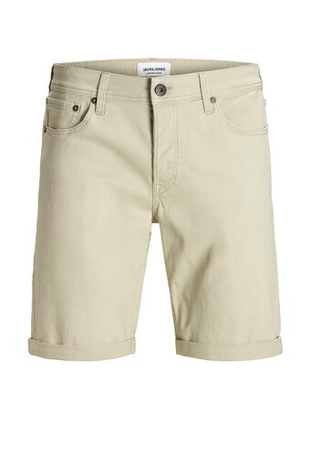 Jack & Jones Regular Fit Jeans Intelligence Jjırick Erkek Short 12165892 BEJ