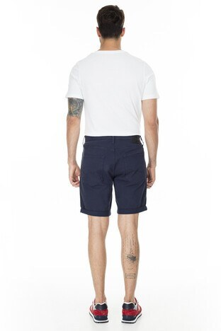 Jack & Jones Regular Fit Jeans Intelligence Jjırick Erkek Short 12165892 LACİVERT