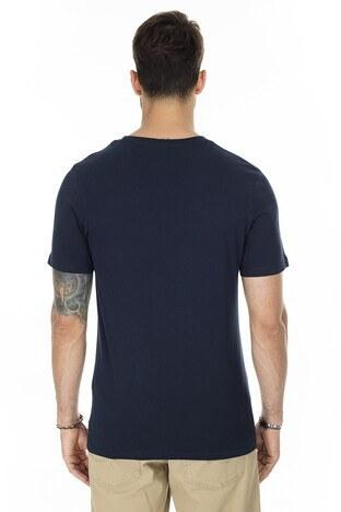 Jack & Jones Slim Fit Core Jcotunel Erkek T Shirt 12174369 KOYU LACIVERT