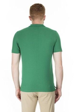 Jack & Jones Slim Fit Essentials Jjebasıc T Shirt Erkek Polo 121365162 YEŞİL