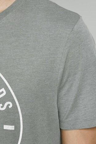 Jack & Jones Slim Fit Essentials Jjejeans Erkek T Shirt 12177533 YEŞİL