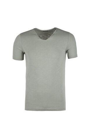 Jack & Jones - Jack & Jones Originals Jorbirch Erkek T Shirt 12136502 YEŞİL