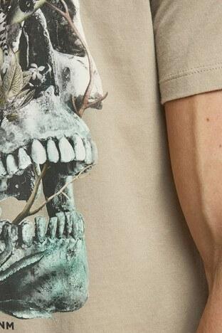 Jack & Jones Slim Fit Originals Jorraf Erkek T Shirt 12171634 KAHVE