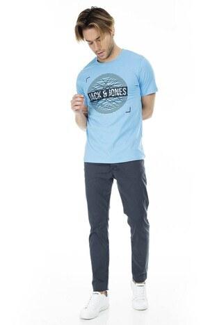 Jack&Jones Core Jcobooster Erkek T Shirt 12152862 MAVİ