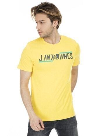 Jack & Jones - Jack&Jones Core Jcobooster Erkek T Shirt 12152862 SARI