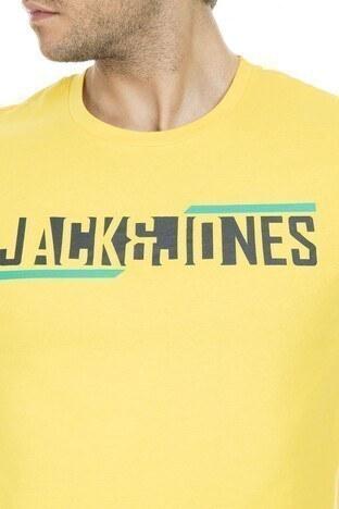 Jack&Jones Core Jcobooster Erkek T Shirt 12152862 SARI