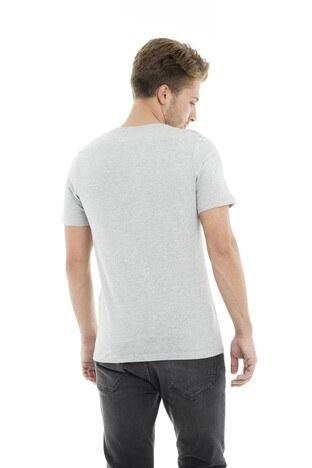 Jack&Jones Core Jcobooster Tee Ss Crew Neck Feb Erkek T Shirt 12160595 AÇIK GRİ