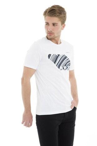 Jack&Jones Core Jcobooster Tee Ss Crew Neck Feb 19 Erkek T Shirt 12160595 BEYAZ