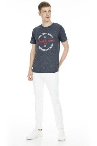 Jack&Jones Core Jcobrush Erkek T Shirt 12154300 LACİVERT