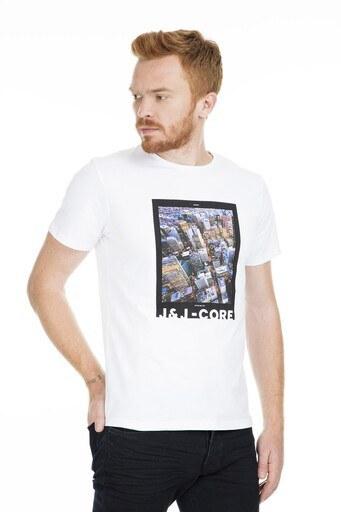 Jack&Jones Core Jcocolor Erkek T Shirt 12168808 BEYAZ