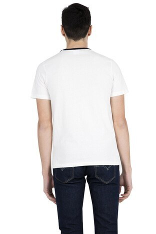 JACK&JONES CORE JCOCOMES TEE SS CREW NECK T SHIRT Erkek T Shirt 12147619 KREM