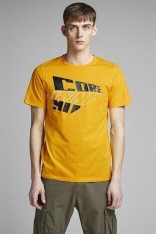 Jack & Jones - JACK&JONES CORE JCOCUTTERS TEE SS CREW NECK T SHIRT Erkek T Shirt 12151241 SARI