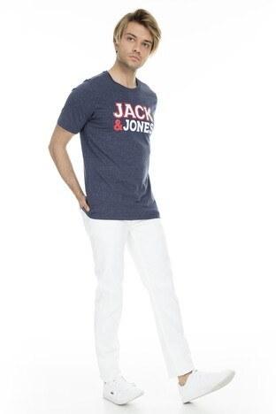 Jack&Jones Core Jconine Erkek T Shirt 12152225 LACİVERT