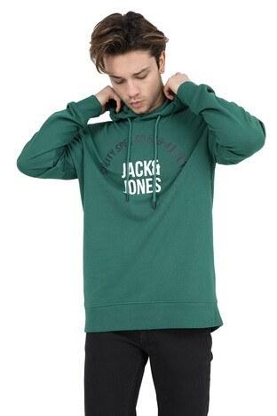 JACK&JONES CORE JCORONALD HOOD WHS Erkek Sweat 12148872 YEŞİL