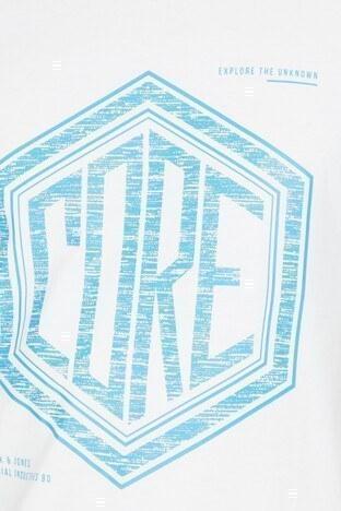 Jack&Jones Core Jcosplash Erkek T Shirt 12146112 BEYAZ