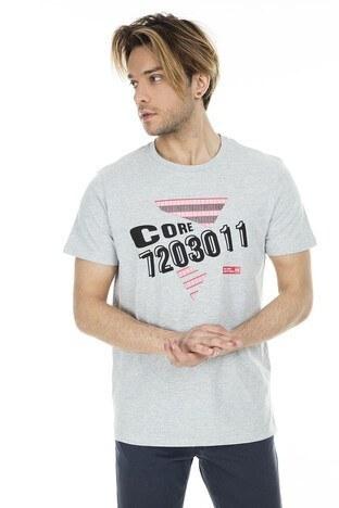 Jack & Jones - Jack&Jones Core Jcostar Erkek T Shirt 12161626 AÇIK GRİ