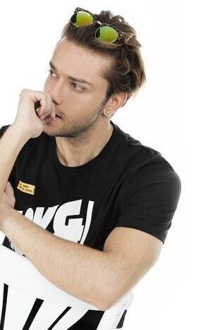 Jack&Jones Core Jcostar Erkek T Shirt 12161626 SİYAH