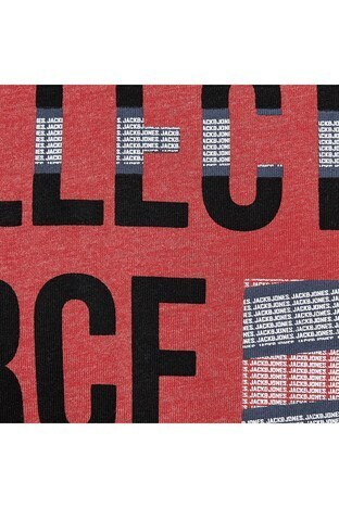 Jack&Jones Core Jcostar Erkek T Shirt 12161628 KIRMIZI