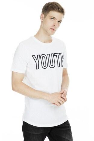 Jack & Jones - Jack&Jones Core Jcotoor Erkek T Shirt 12165355 BEYAZ