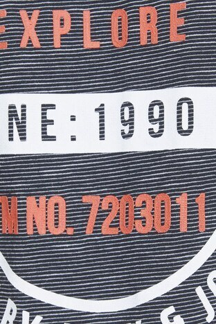 JACK&JONES CORE JCOTRUTH TEE SS CREW NECK CAMP T SHIRT Erkek T Shirt 12145382 LACİVERT
