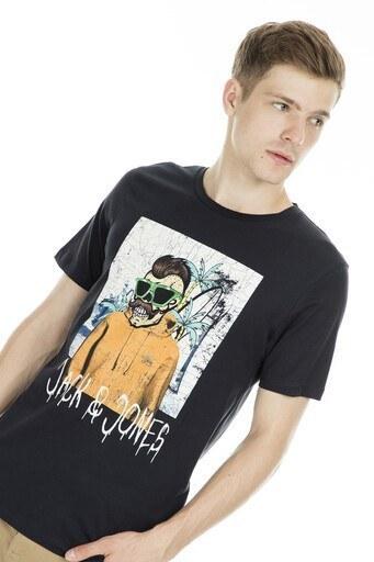 Jack&Jones Originals Jorbelboy Erkek T Shirt 121578631 SİYAH