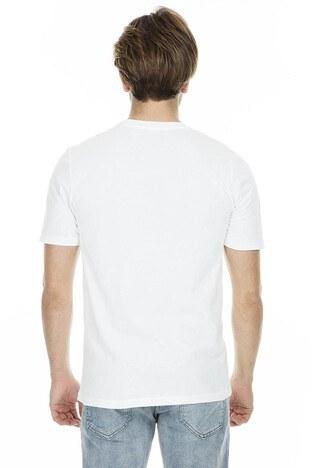 Jack&Jones Originals Jorsunbaked Erkek T Shirt 12153600 BEYAZ