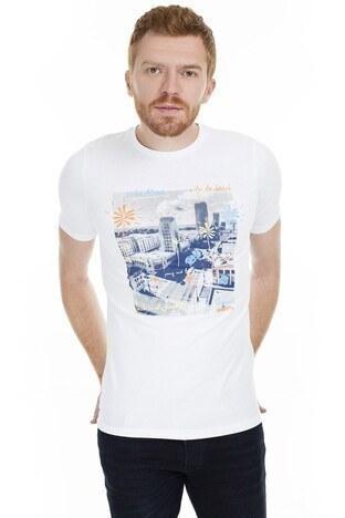 Jack & Jones - Jack&Jones Originals Jorsundaze Erkek T Shirt 12152554 BEYAZ