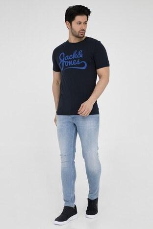 JACK&JONES ORIGINALS JORTRAFFIC TEE SS CN JAN 19 T SHIRT Erkek T Shirt 12155966 LACİVERT