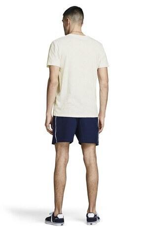 Jack&Jones Originals Jortraveller Erkek T Shirt 12153602 EKRU