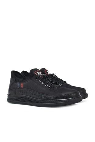 James & Franco Deri Erkek Ayakkabı 5405322T SİYAH