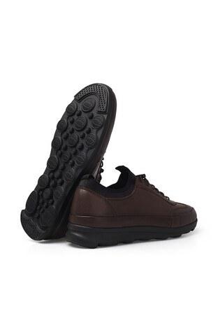 James & Franco Deri Erkek Ayakkabı 5405710 KAHVE-SİYAH