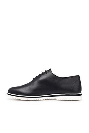 James & Franco Hakiki Deri Erkek Ayakkabı 5405692 SİYAH
