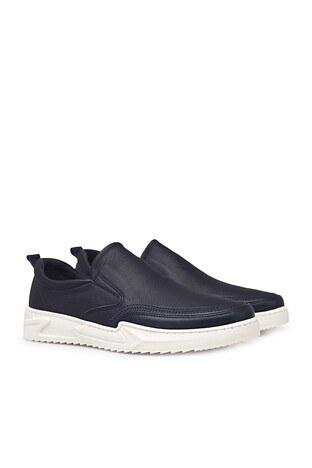 James & Franco Hakiki Deri Erkek Ayakkabı 5406071 LACİVERT