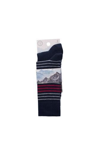 John Frank 2 Pack Erkek Çorap CTNJF2LS19W09 LACİVERT