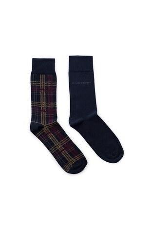 John Frank 2 Pack Erkek Çorap CTNJF2LS19W11 LACİVERT