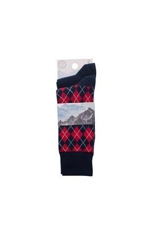 John Frank 2 Pack Erkek Çorap CTNJF2LS19W16 LACİVERT