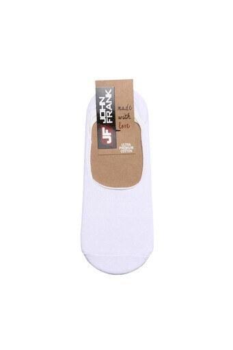 John Frank Babet Erkek Çorap JFNS17S01 BEYAZ