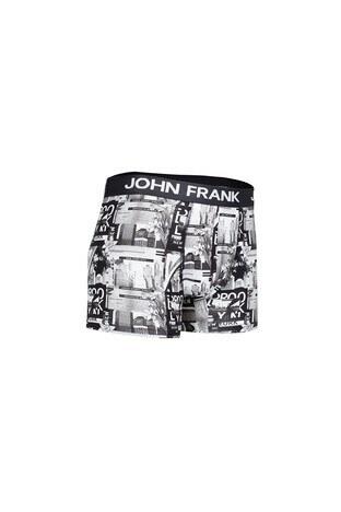 John Frank Erkek Boxer CTNJFBD229 SİYAH
